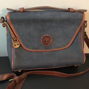Timberland Vintage Leather Crossbody Satchel Bag